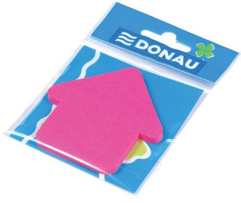 Bloczek samoprzylepny 50 kartek w kształcie strzałki zielony DONAU /7560001PL-16/