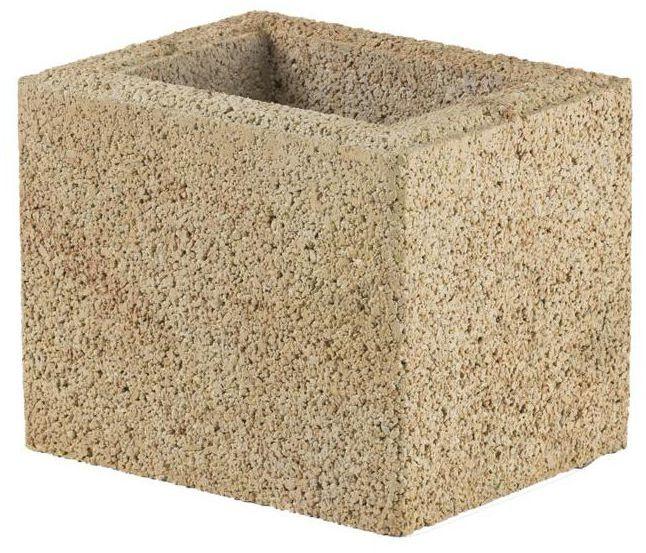 Bloczek słupkowy 25.2 x 20 x 20 cm betonowy BESKID JONIEC