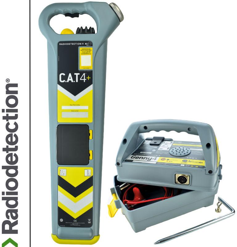 Radiodetection Wykrywacz instalacji podziemnych Cat4+ & Genny