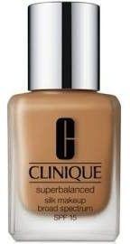 Clinique Superbalanced Silk jedwabisty make-up SPF 15 15 Silk Nutmeg 30 ml