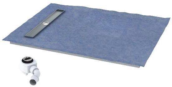 Schedpol brodzik posadzkowy podpłytkowy ruszt Stamp 120x80x5cm 10.008/OLKB/SP