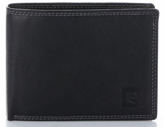 Klasyczny Skórzany Portfel Męski firmy Pierre Cardin Czarny (kolory)
