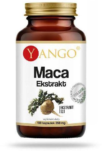 Yango Korzeń Maca ekstrakt 10:1 100 kapsułek