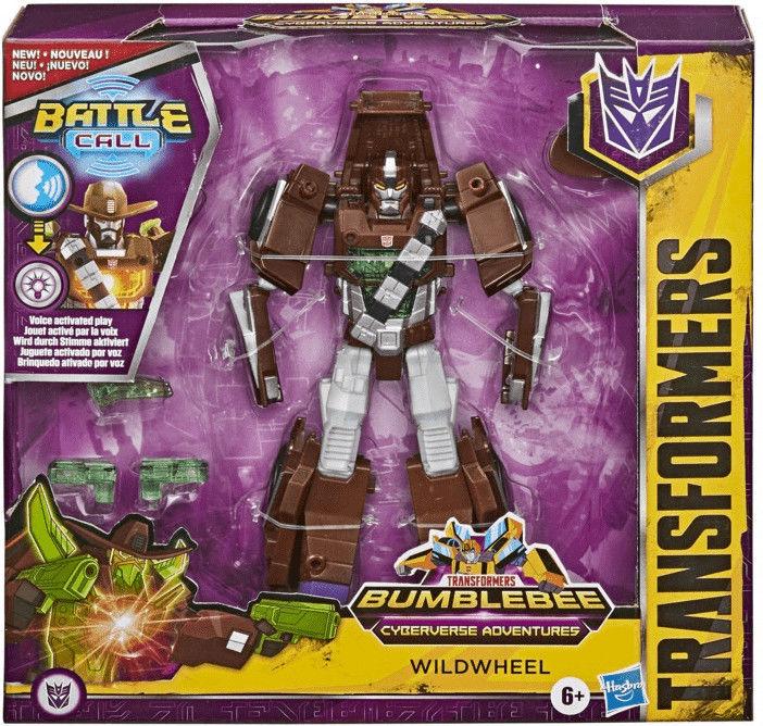 Figurka Transformers Cyb Battle Call Trooper Class Wildwheel