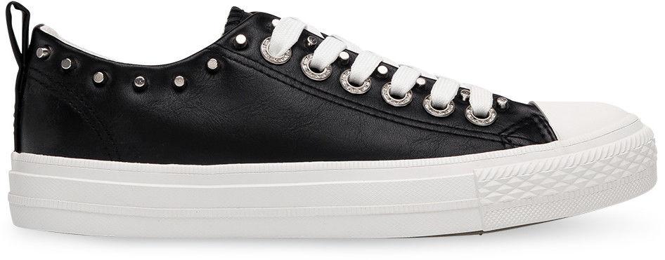 Trampki damskie Ideal Shoes SM-2738 Czarne