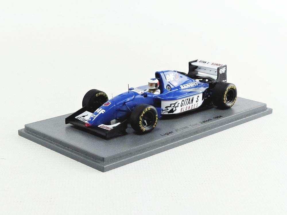 Spark S7406 miniaturowy samochód z kolekcji, niebieski/biały