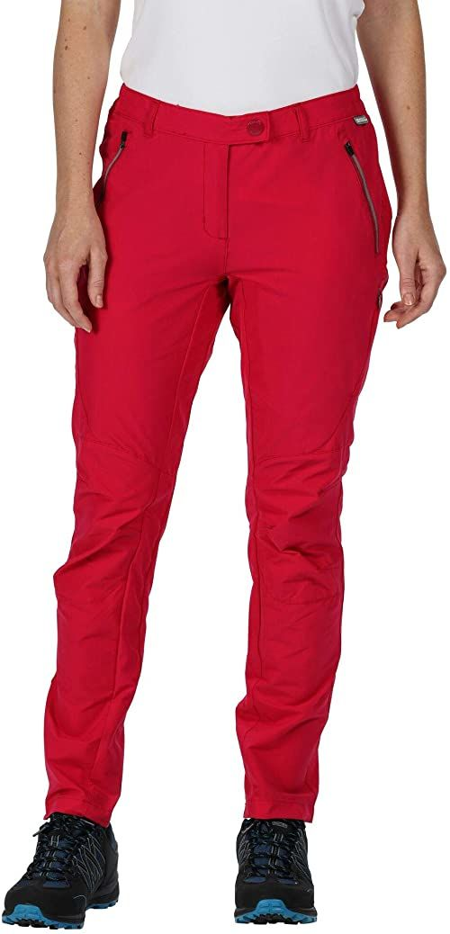 Regatta Highton Isotex-Stretch tkanina, wodoszczelna, dla kobiet, ciemna wiśniowa czerwień