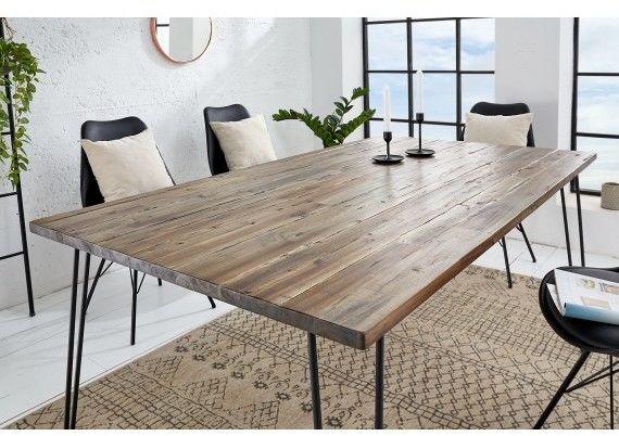 Stół do jadalni Rac 160 cm brązowy
