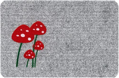 HMT wycieraczka grzybowa-Pilz 40 x 60 cm flokowana szara
