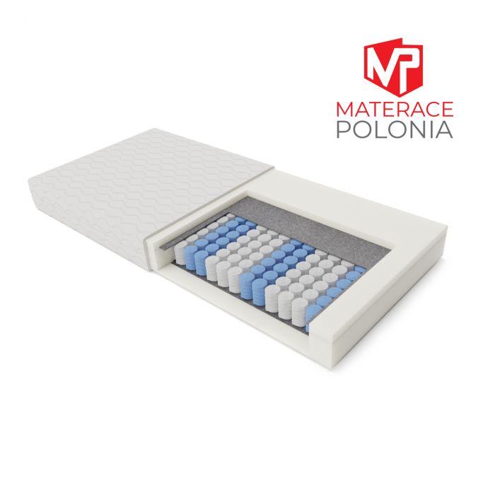 materac kieszeniowy LEGENDARNY MateracePolonia 140x200 H2 + DARMOWA DOSTAWA