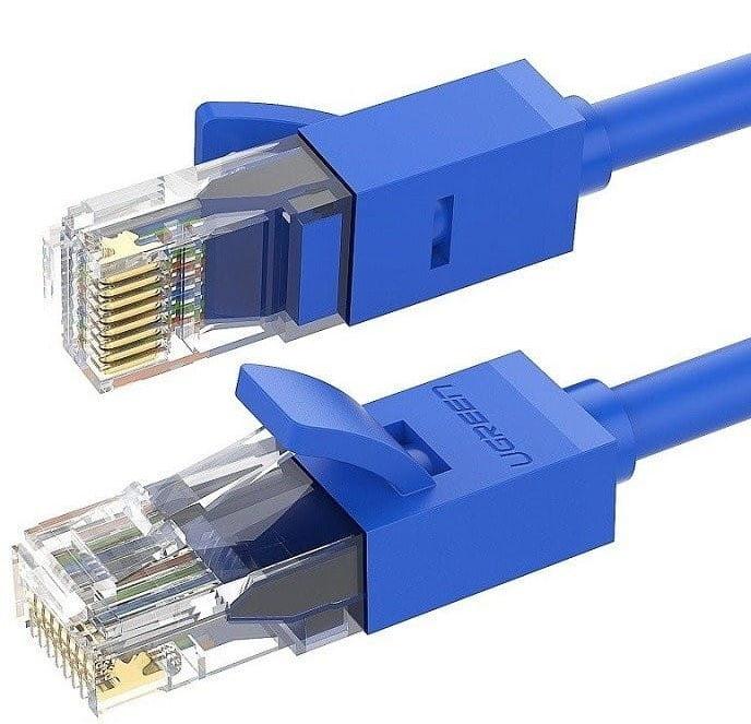 Kabel sieciowy UGREEN Ethernet RJ45, Cat.6, UTP, 3m (niebieski)