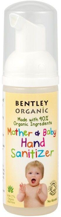 Antybakteryjna Pianka do Mycia Rąk, 50ml Bentley Organic