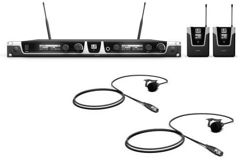 LD Systems U508 BPL 2 mikrofon bezprzewodowy krawatowy, podwójny