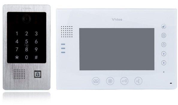 Wideodomofon vidos m670w-s2/s20da - szybka dostawa lub możliwość odbioru w 39 miastach
