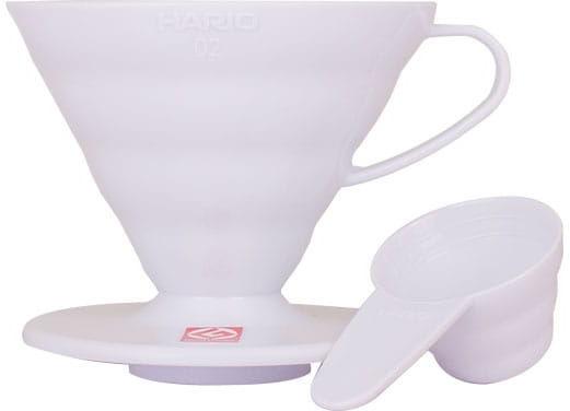Hario Drip plastikowy biały V60 02