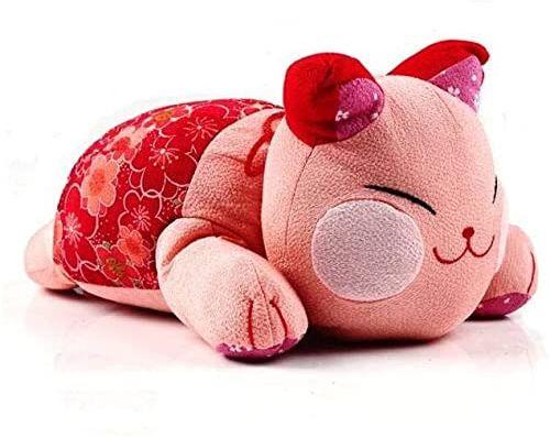 Kawai japoński kot różowy