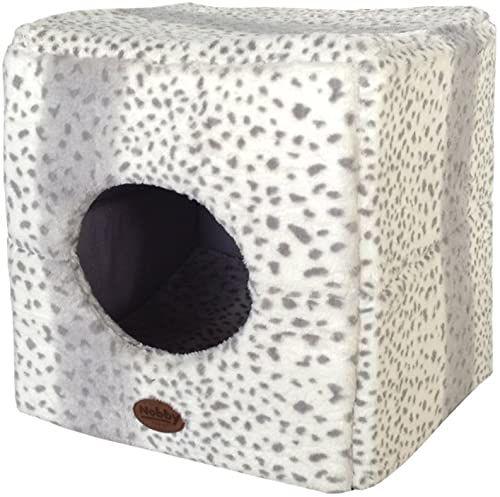 "Nobby Höhle Cube""ALANIS"" leopard szary dł. x szer. x wys.: 45 x 45 x 45 cm"