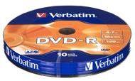 Verbatim DVD-R 4,7 GB x16 10 szt. Matt Silver