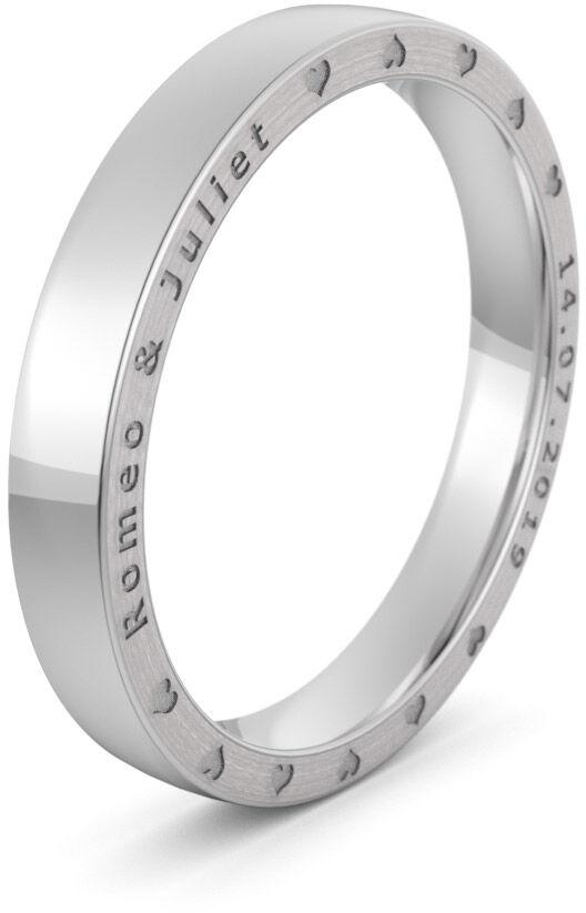 Pierścionek obrączkowy srebrny - Ag-575