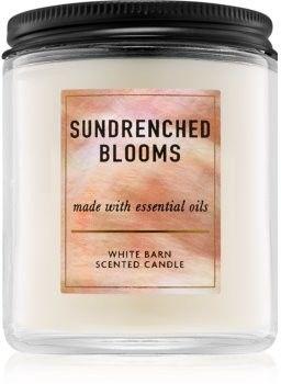 Bath & Body Works Sundrenched Blooms świeczka zapachowa 198 g