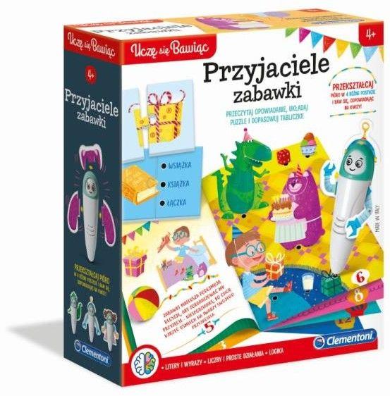 Clementoni - Mówiące Pióro Zestaw gier Przyjaciele zabawki 50648