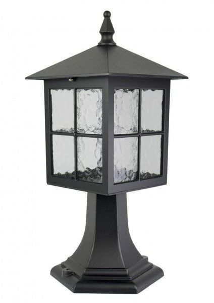 Aluminiowa lampa stojąca zewnętrza Wenecja K 4011/1/KW miedź