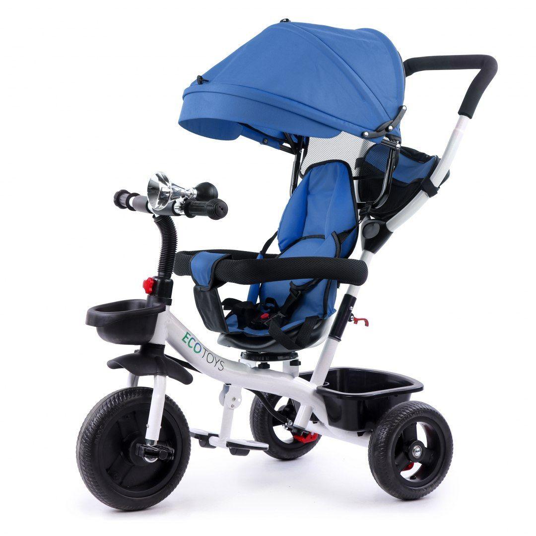 Rower trójkołowy wózek obracane siedzisko 360*