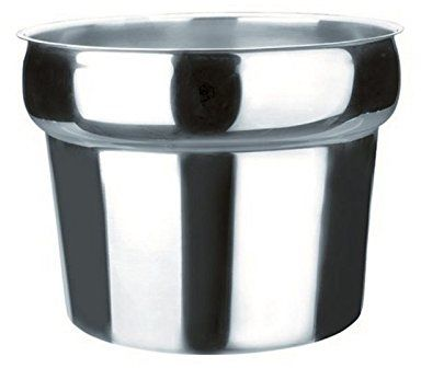 Lacor R69100A pojemnik na zupę na luksusowe naczynie do tarcia, stal nierdzewna srebrny
