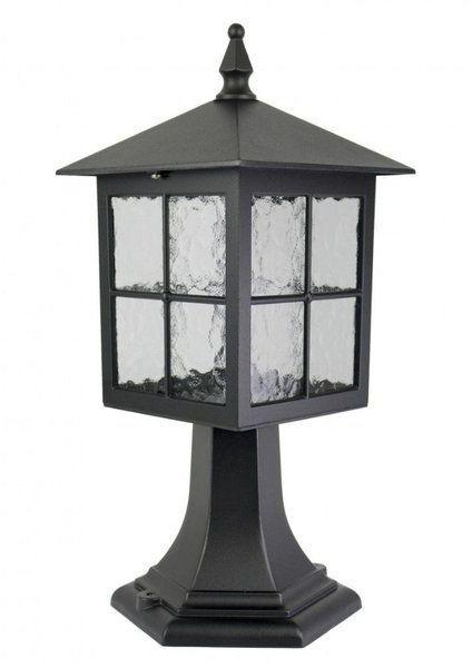 Aluminiowa lampa stojąca zewnętrza Wenecja K 4011/1/KW mosiądz