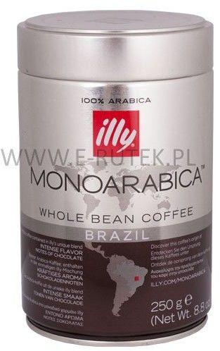 Illy Brasile kawa ziarnista 250 g 6 szt.
