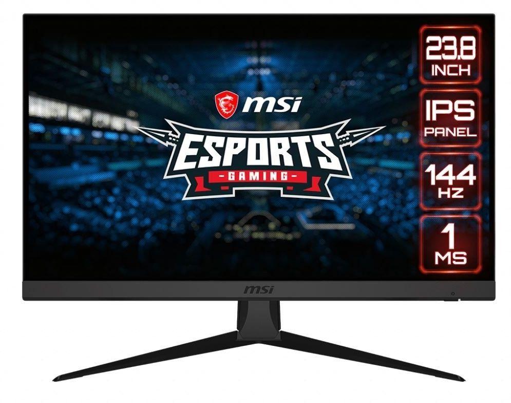 MSI Monitor Optix G242 23.8 cala FLAT/LED/FHD/NonT/144Hz/Czarny