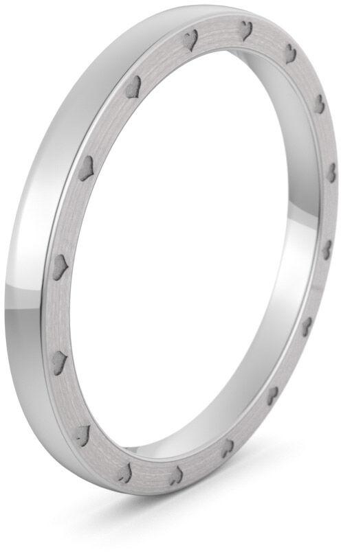 Pierścionek obrączkowy srebrny - Ag-579