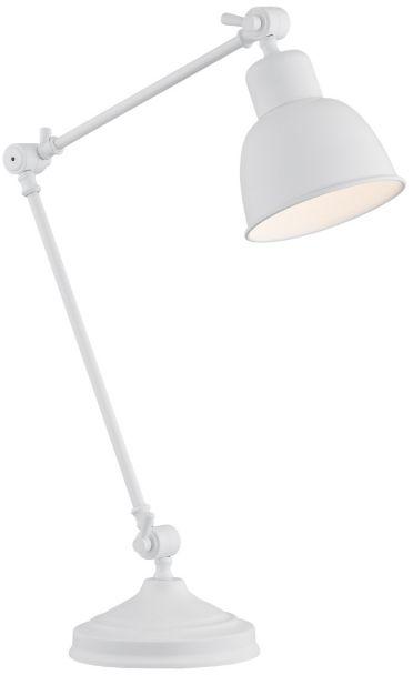 Lampa stołowa Eufrat 3194 Argon nowoczesna oprawa w kolorze białym