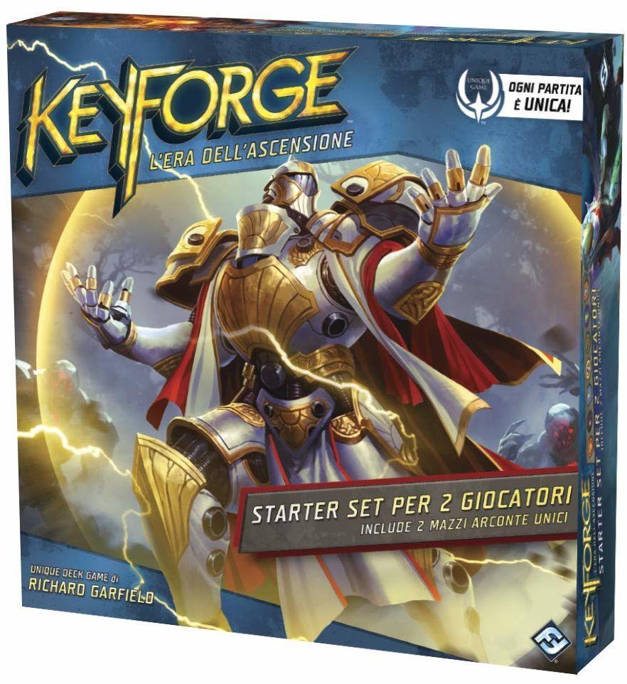 Asmodee Italia KeyForge the Era zestaw startowy dla 2 graczy, kolor: Color, 10602