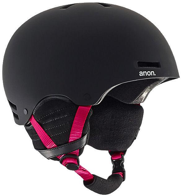 Anon GRETA BLACK/PINK EU kask snowboardowy - L