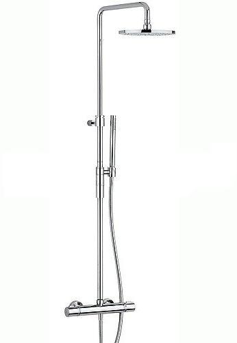 Paffoni Fonte zestaw natryskowy natynkowy termostatyczny ZCOL646CR