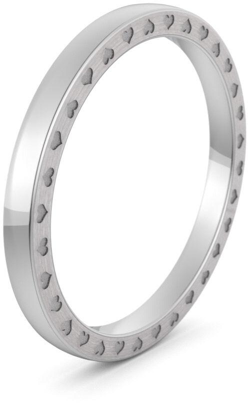 Pierścionek obrączkowy srebrny - Ag-581
