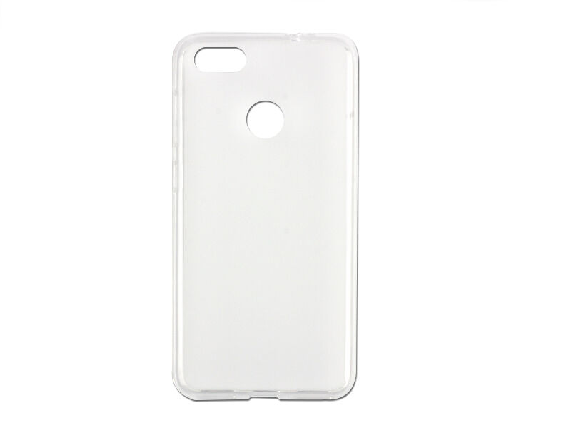 Huawei P9 Lite Mini - etui na telefon FLEXmat Case - biały