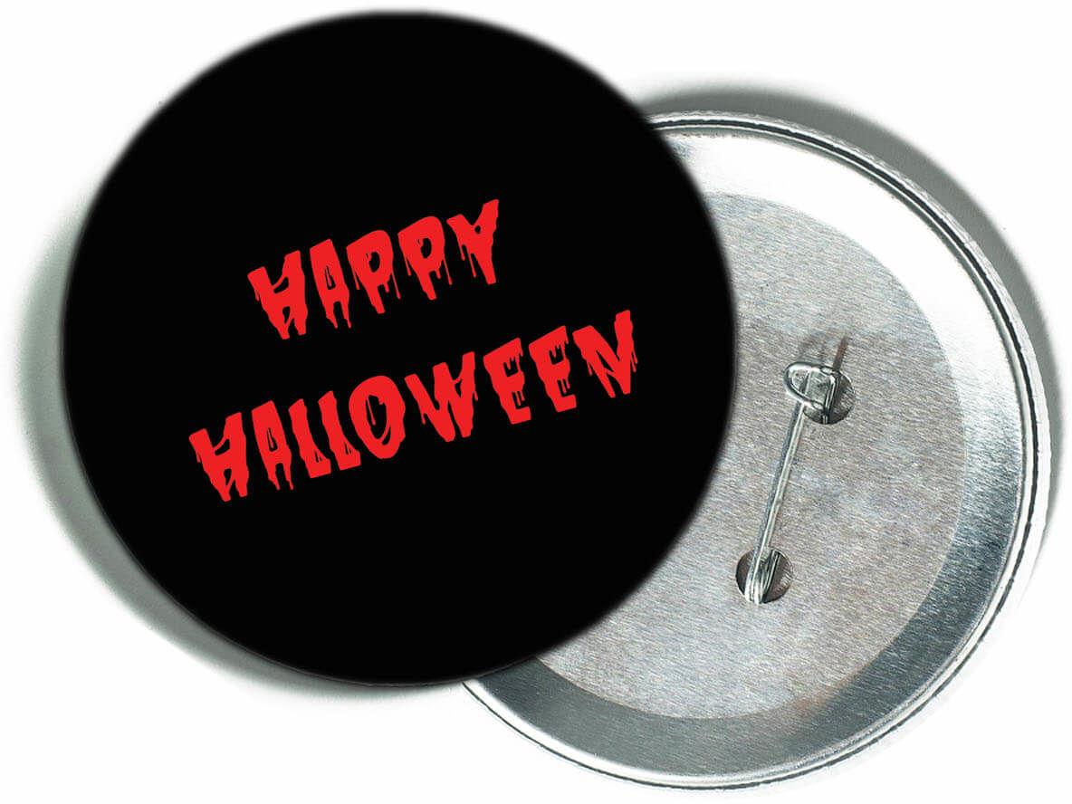 Przypinka Krwawe Halloween - 1 szt.