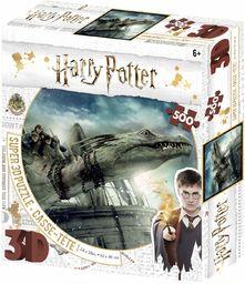 Harry Potter Norbert amd Hermoine Granger 3D układanka 500 sztuk wielokolorowa