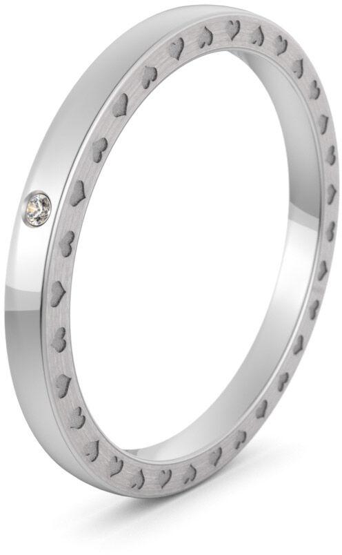 Pierścionek obrączkowy srebrny - Ag-582