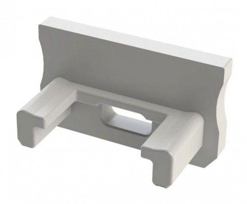 Zaślepka 1 sztuka do profilu nawierzchniowego Lumines typ A biała z otworem