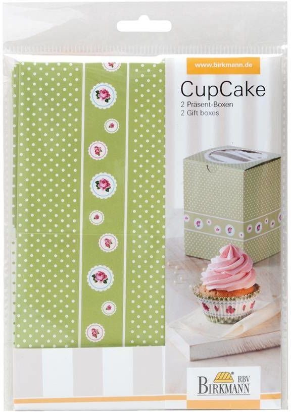 Pudełka prezentowe COTTAGE GARDEN na 1 cupcake - 2 szt. / Birkmann