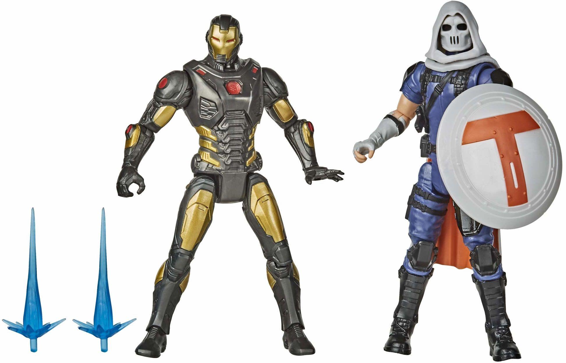 Hasbro Marvel Gamerverse 15 cm kolekcjonerski Iron Man kontra Taskmaster figurka zabawki, wiek 4 i więcej