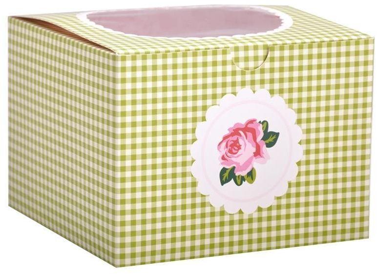 Pudełka prezentowe COTTAGE GARDEN na 4 cupcake - 2 szt. / Birkmann