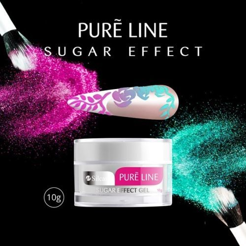 Żel Pure Sugar Effect + 5x Akryl Garden of Colour