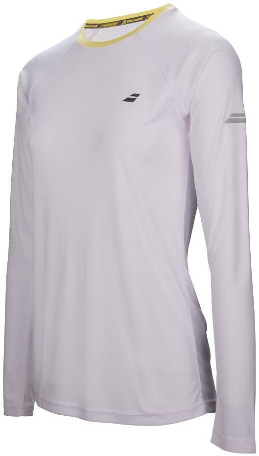 Babolat Core Long Sleeves Tee Women - white