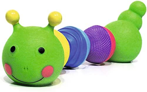 Trefl, Lalaboom, Zręczna Gąsieniczka, Kulko-klocki Sensoryczne, Klocki, Zabawka Edukacyjna dla Dziewczynki i dla Chłopca, Rozwój Motoryczny, Bezpieczna zabawka sensoryczna dla Dzieci od 10 miesięcy