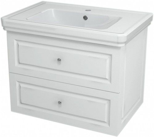Szafka umywalkowa SoftClose 68,5x52x46,5cm, biała