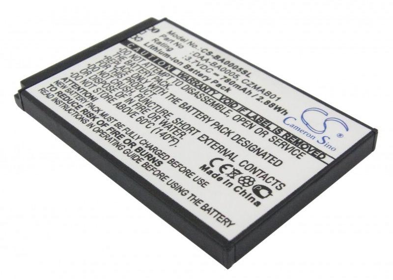 Creative Zen Micro / DAA-BA0005 780mAh 2.89Wh Li-Ion 3.7V (Cameron Sino)